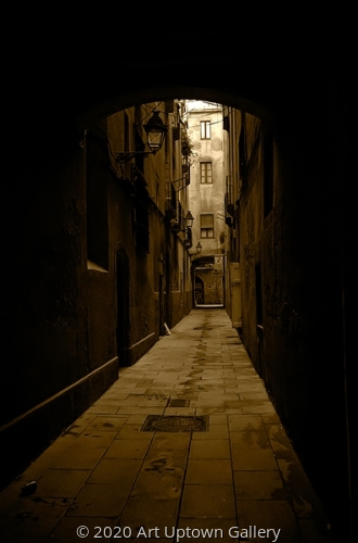 'Alley' by Frank Bibbins