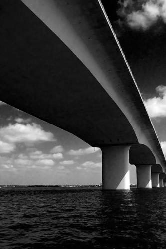 'Ringling Causeway Bridge' by Frank Bibbins