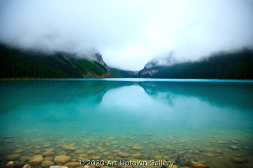 'Clouds, Lake Louise' by Bibbins