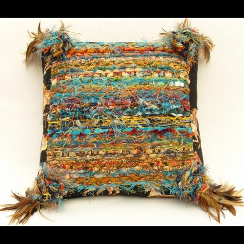 Sedona Horses Pillow by N. Faris
