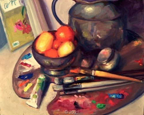'In the studio' by Sorg
