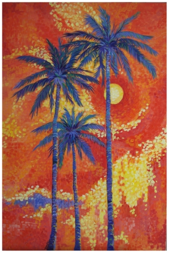 Moon Over Miami by Kurczek