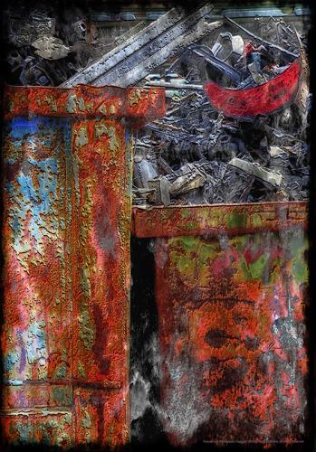 'Junkpile #2' by Frank Bibbins