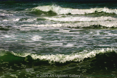 'Lido Beach Surf' by Frank Bibbins
