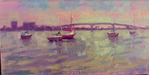'Sunset in Pastels' by Sorg
