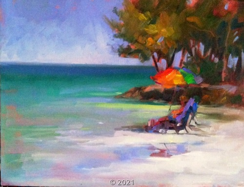 'Solitude at the Beach' by Sorg