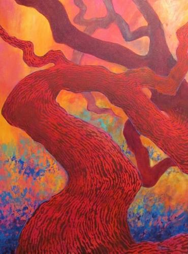 'Ancient Oak' by Moran
