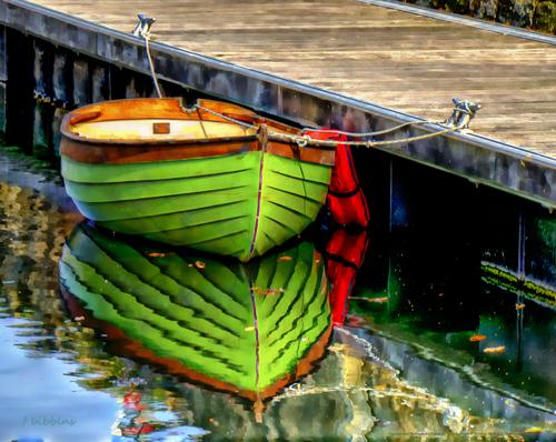 'Chaloupe Vert' by Frank Bibbins