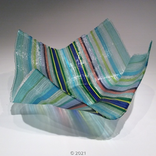 'Handkerchief Bowl' by Jensen