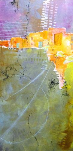 'PUEBLOS' by Krasner