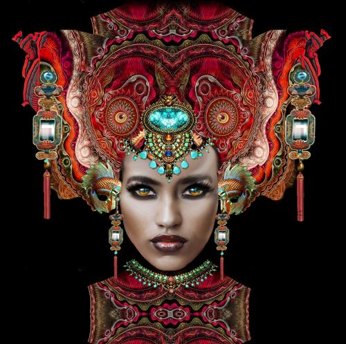 'Maharahni 2 Masque' by Trostli