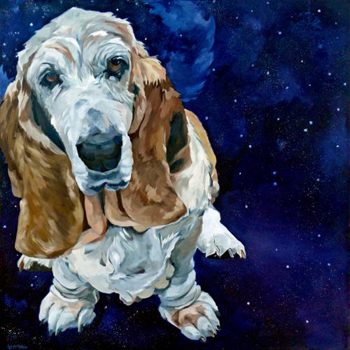 'Basset Hound Nebula' by Evelyn McCorristin Peters
