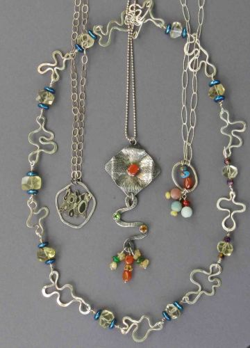 'Mixed necklaces' by Flam Corin
