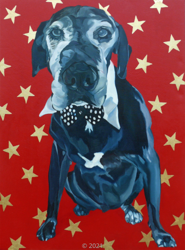 'Starry Leonard' by Evelyn McCorristin Peters