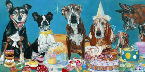 'The Last Dessert' by Evelyn McCorristin Peters