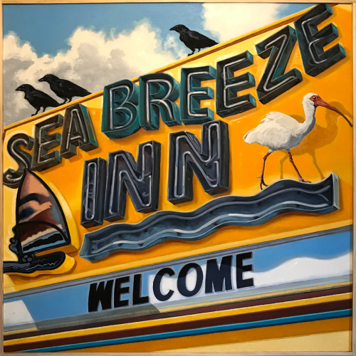 'Sea Breeze Inn' by P. Christ
