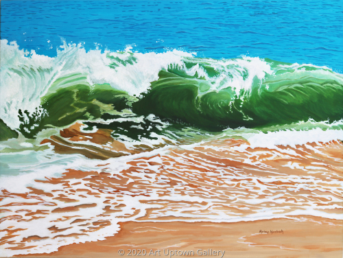 """Surf Meets Sand"" by Marlane Wurzbach"