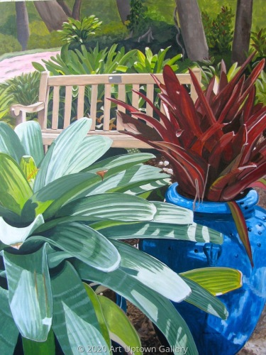 """Bromeliad Bower at Selby Gardens"" by Marlane Wurzbach"