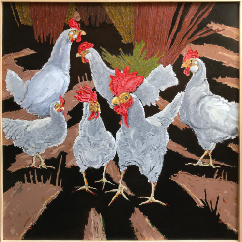 'Chickens' by P.Christ