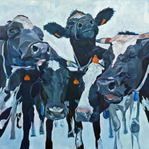 'The Herd' by Evelyn McCorristin Peters