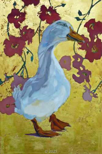 'Lucy the Peking Duck' by Evelyn McCorristin Peters