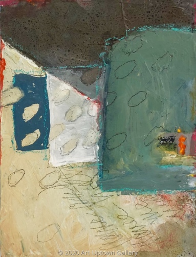 "'House Series No 3"" by Krasner"