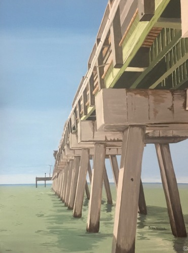 """Venice Fishing Pier"" by Marlane Wurzbach"