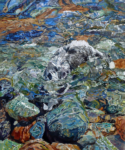 'Stella Dives In' by Evelyn McCorristin Peters