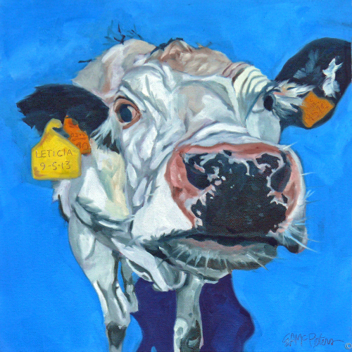 Leticia the Cow by Evelyn McCorristin Peters