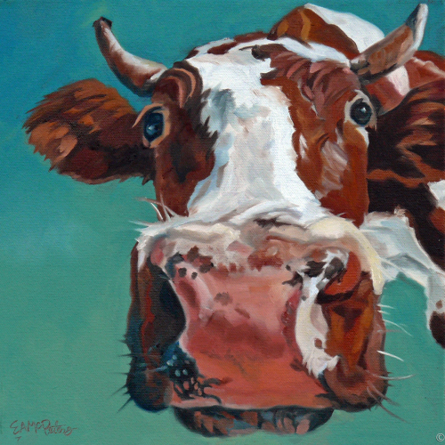 How Now Brown Cow by Evelyn McCorristin Peters