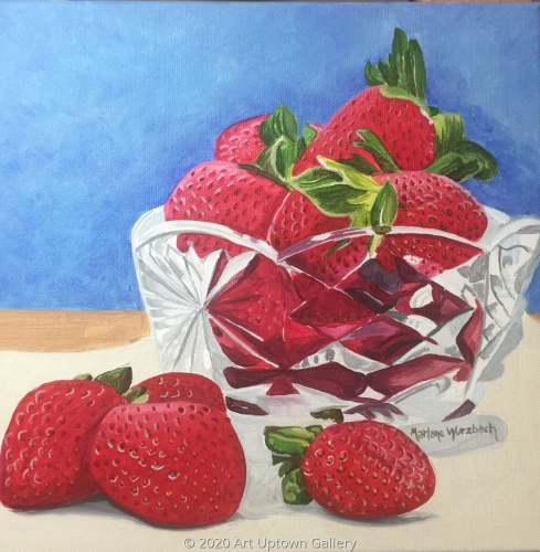 """Les Fraises"" by Marlane Wurzbach"