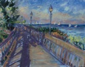 Patterson Park Evening on the Boardwalk (thumbnail)
