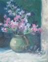 Pink flowers in vase (thumbnail)