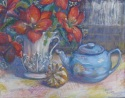 Blue teapot and gourd (thumbnail)