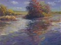 Belle Isle Pond-Autumn Reflections (thumbnail)