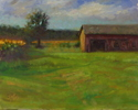 Late Afternoon Light on the Barn (thumbnail)