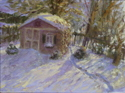 Shed in Winter (thumbnail)