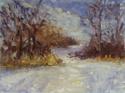 Winter Path Study on Belle isle (thumbnail)
