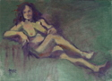 Elizabeth Reclining in the Nude (thumbnail)