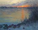 Sunset across the Ice Flow (thumbnail)