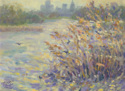 Reeds on the Pond (thumbnail)