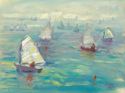 Sail School with Red Buoys (thumbnail)