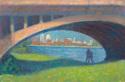 Detroit through the Bridge (thumbnail)