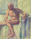 Seated Male Nude (thumbnail)