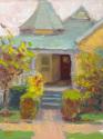 Victorian Home Red Door (thumbnail)