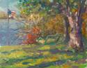 Swing at Lake House (thumbnail)