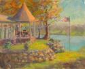 Gazebo at Lake House (thumbnail)