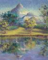 Bell Isle Conservatory Reflected on Lake Takoma (thumbnail)