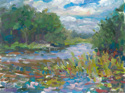Reeds on Oscoda River (thumbnail)