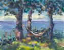 Hammock overlooking Lake Michigan (thumbnail)